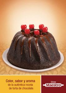 Color, sabor y aroma de la auténtica receta de torta de chocolate | Línea Maestro Ecuaddor