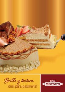 Brillo y textura ideal para pastelería | Línea Maestro Ecuador