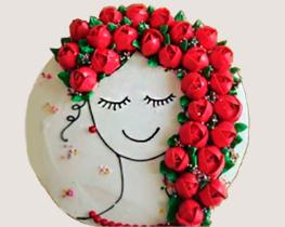 Para preparar Torta Rosas Rojas para mi Madre se recomienda utilizar la Premezcla de Torta Chifon, para ver las instrucciones de uso, y seguir los siguientes pasos.